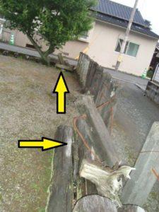 熊本地震古閑天満宮被害