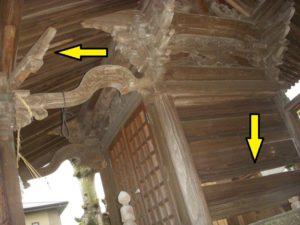熊本地震小原若宮神社被害