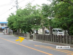 良間日吉神社 熊本地震2年後