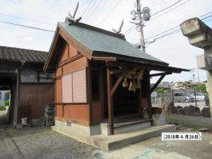 今村天満宮 熊本地震2年後