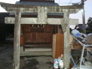 熊本地震今村天満宮被害