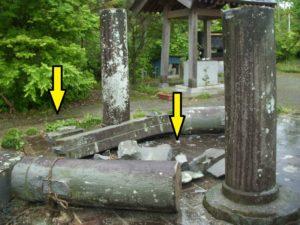 熊本地震木部阿蘇神社被害