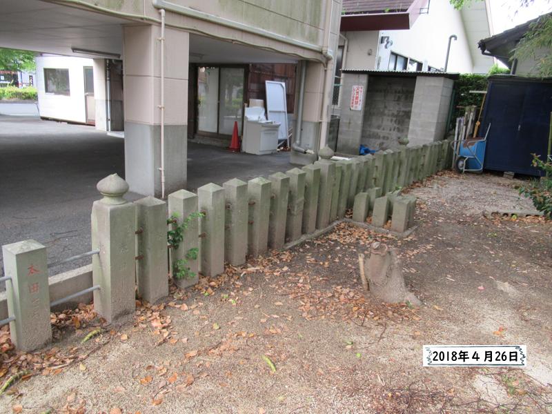 笛田神社熊本地震から2年後出仲間神社