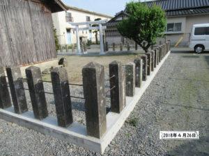 古賀天満宮 熊本地震2年後