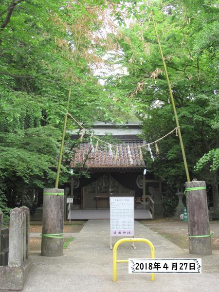 笛田神社 熊本地震2年後